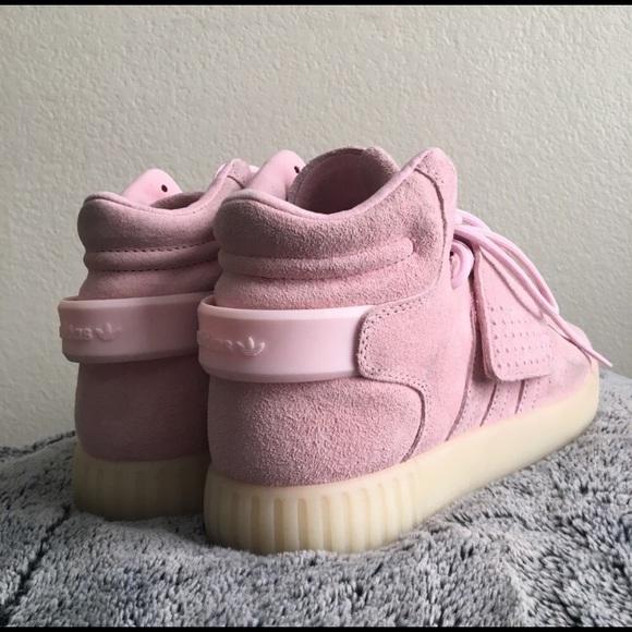 adidas Shoes - Adidas tubular invader strap women pink